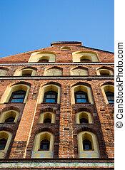 Kaliningrad (Konigsberg) Cathedral fragment. Kaliningrad....