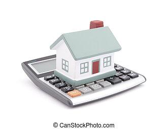 kalkulačka, hypotéka