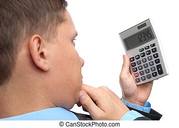 kalkulator, handlowiec