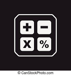 kalkulator, ikona