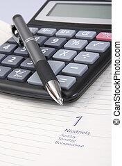 kalkulator, pojęcie, handlowy