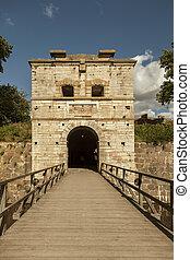 Kalmar City Gate - Image of old city gate in Kalmar, Sweden.