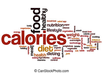 Kalorier, ord, moln