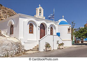 Kamari village church