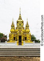 kamat, chomthong, chiangmai, pagoda, tailandia, wat