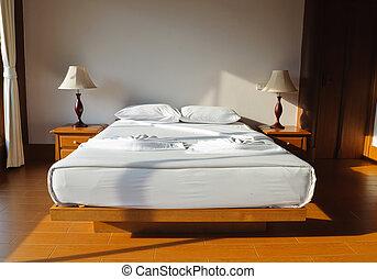 kamer, bed