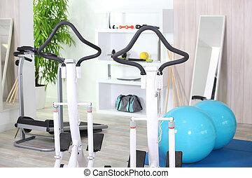 kamer, fitness