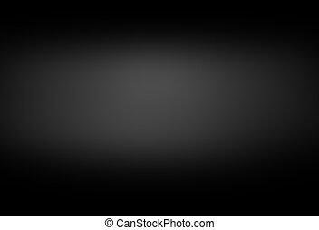 kamer, helling, studio, luxe, achtergrond, black