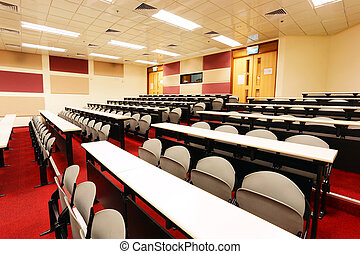 kamer, lezing