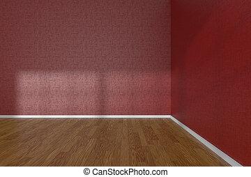 Stockbeelden van houten hoek kamer lege vloer kamer houten floor csp9225605 zoek - Kamer parket ...