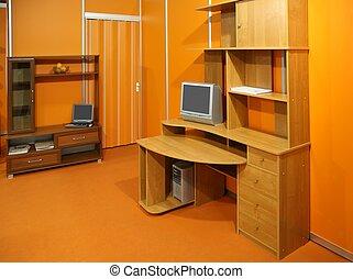 kamer, werkende