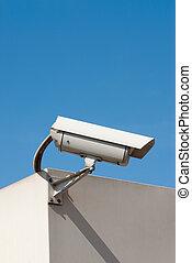 kamera, bevakning