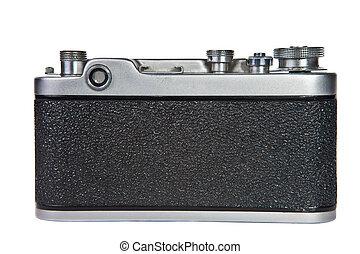 kamera, gammal, bakgrund