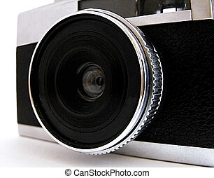 kamera, gammal