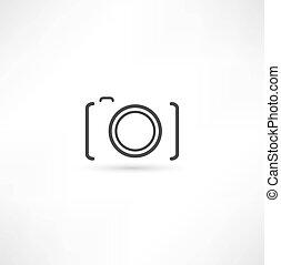 kamera, ikon