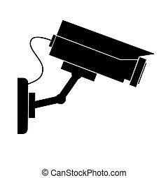 kamera, obrazový dozor
