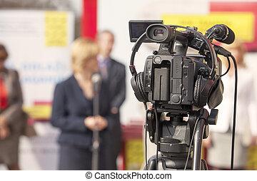 kamera video