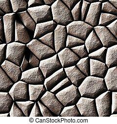 kamień, biały, struktura, seamless