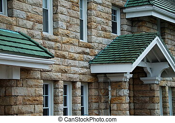 kamień dom