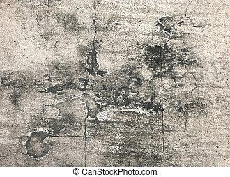 kamień, kasownik, oncrete, lekki, szary, struktura, tło modelują
