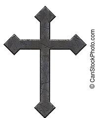 kamień, krzyż