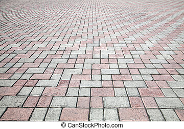 kamień, ulica, bruk, droga, struktura