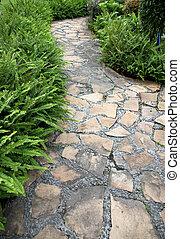 kamień walkway