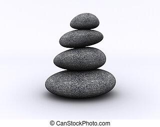 kamień wieża