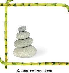 kamienie, zdrój, abstrakcyjny