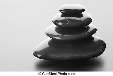 kamienie, zen