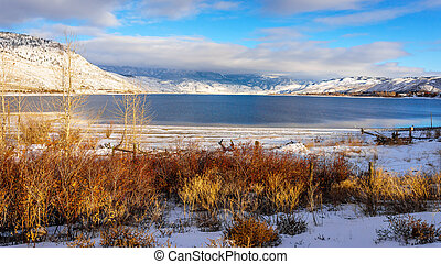 Kamloops Lake on a Winter Day