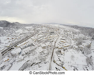 Kamnik from above