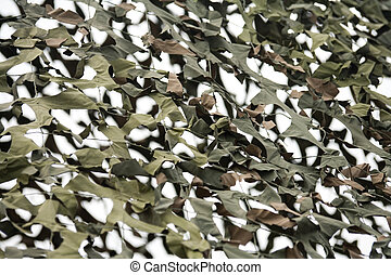 kamouflage, nätbindning