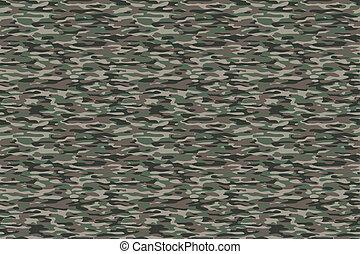 kamouflage, oliv, brun fond