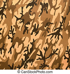 kamouflage, struktur, konstgjort, läder