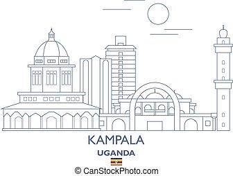 Kampala City Skyline, Uganda