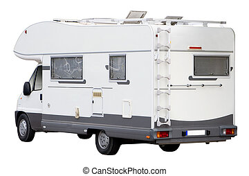 kampeerautobestelwagen