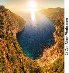 Kampi sunset panorama
