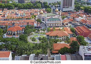 kampong, glam, singapour