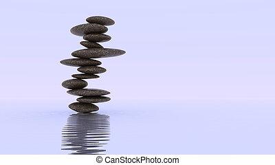 kamyki, stałość, balance., plie