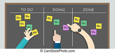 kan ban to do list board kanban task - kan ban to do list...