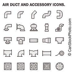 kanaal, lucht, pictogram