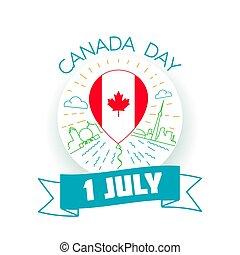 kanada, 1, juli, dag