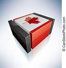kanada kennzeichen, 3d