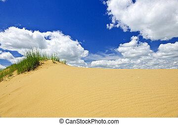 kanada, krajobraz, pustynia, manitoba