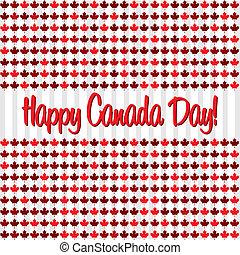 kanada, lycklig, day!
