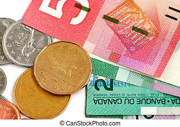 kanada, pengar