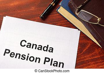kanada, renta, cpp, plan