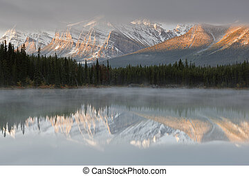kanada, tó, herbert