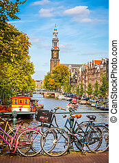 kanal, amsterdam, prinsengracht